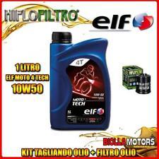 KIT TAGLIANDO 1LT OLIO ELF MOTO TECH 10W50 GILERA 125 DNA 125CC 2001-2003 + FILT