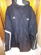 New ADIDAS  Kansas Basketball Black Winter Jacket Coat MEN'S XL