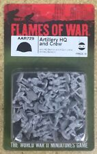 Flames of War - Arab-Israeli: Artillery HQ and Crew  AAR729