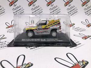 "Die Cast "" Mitsubishi 4X4 Dakar 1998 J.P.Fontenay "" Rally Goddess 1/43"