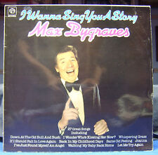 MAX BYGRAVES I Wanna Sing You a Story LP VINYL RECORD British Pye