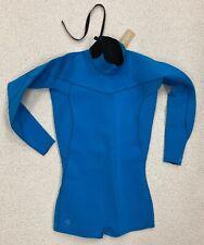 New! $100 BODY GLOVE SPRINGSUIT 2mm Back-Zip Surfing Wetsuit / Women's Sz 11-12