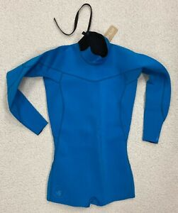 New! $100 BODY GLOVE SPRINGSUIT 2mm Back-Zip Surfing Wetsuit / Women's Sz 11-12