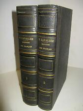 THEOPHILE LAVALLEE HISTOIRE FRANCAIS 1845 Illustré PORTRAITS ROIS HETZEL 2/2