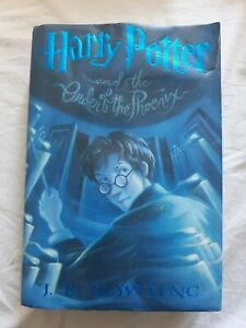 Harry Potter and the Order of the Phoenix Book 5, 1st American Ed., Hardcover