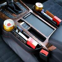 Auto Car Seat Gap Catcher Storage Box Organizer Right Cup Crevice Pocket Stowing