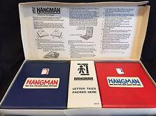 MILTON BRADLEY Vintage HANGMAN GAME 1976 Vincent Price-Fast Shipping
