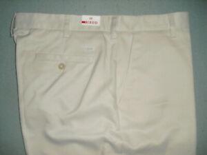 NEW NWT Izod mens polyester shorts Sz 38 tan - flat front