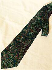 FENDI Cravatta Tie 100% Seta Silk Made In Italy Nuova New
