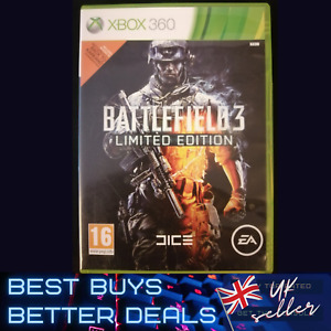 Battlefield 3 Limited Edition Xbox 360 Game TESTED PAL