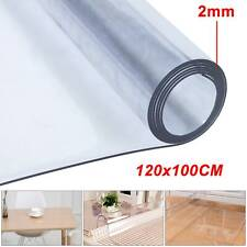 Waterproof Table Cloth Protector Strong Clear Plastic PVC Vinyl Transparent UK