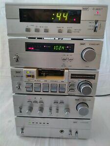 BASF Mini-Hifi-Anlage 6530, 6510, 6635, 6500, 6620T mit Timer selten Aiwa Wega