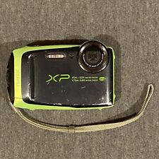 Fujifilm FinePix XP Series XP90 16.4MP Digital Camera - Black & Green