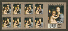Christmas 2011 (Madonna & Child by Raphael) - MNH Bkt Pane of 20