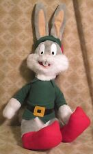 BUGS BUNNY IN CHRISTMAS ELF SUIT PLUSH TOY 1998