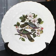 """Vintage Alfred Meakin England Birds of America Band-Tailed Pigeon 9"""" Salad Plate"""