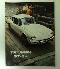 Triumph GT-6+ 1969 Dealer Sales Brochure