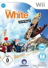 Shaun White snowboard: World Stage (Nintendo Wii, nuevo + embalaje original, DVD-box)