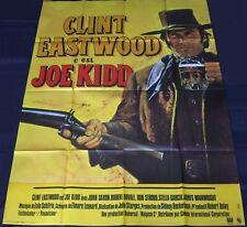 1972 Joe Kidd ORIGINAL FRENCH POSTER Clint Eastwood Western
