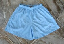DUOFOLD Womens Large Athletic Shorts w/Brief - Powder Blue - Run Swim Workout