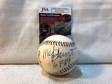 Mel Blount Signed Autographed Pittsburgh Stellers 1997 All Star Baseball JSA HOF