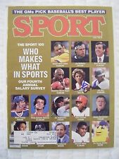 CHRIS EVERT signed RARE 1986 SPORT tennis magazine AUTO Autographed illustrated