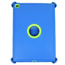For iPad Mini 4 Defender Case Triple Layer (Stand fits Otterbox) Sky Blue Green