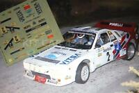 DECAL CALCA 1/43 LANCIA 037 J. PONS RALLY GERONA GIRONA 1984
