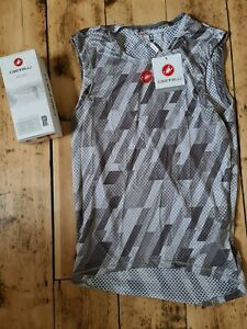 Castelli Pro Mesh sleeveless base layer size large BNWT