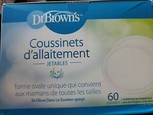 Dr. Brown's Disposable Breast Pads 60 Count