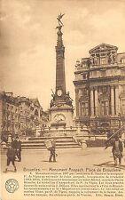 Br34945 Bruxelles Place de Brouckere Monument Anspach Belgium