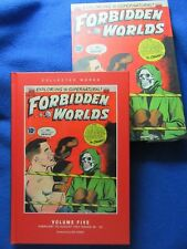 FORBIDDEN WORLDS VOL.5 HARDCOVER COLLECTED WORKS SLIPCASE EDITION ~ PS ARTBOOKS
