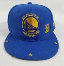Steph Curry New Era MVP NBA Snapback Hat Cap Golden State Warriors California