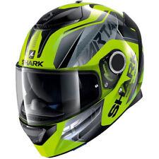 Integral Helm Motorrad Shark Spartan Karken Gelb fluo Größe s
