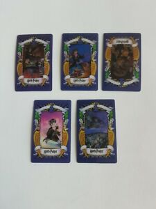 Harry Potter 5 Assorted Chocolate Frog Cards  2001