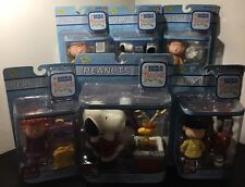 """Lot of 6 Peanuts """"A Charlie Brown Christmas"""" Figurines 2004 - All 6 Unopened!!!"""