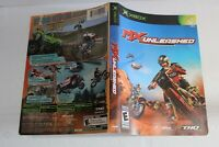 MX Unleashed Xbox replacement cover art insert only! original
