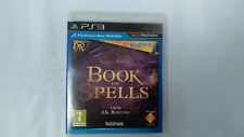 PS3 Wonderbook Book of Spells Game Harry Potter. J.K. Rowling, Miranda Goshawk