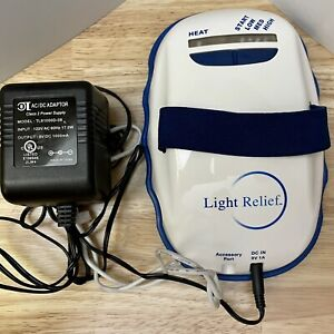 Light Relief LR150 Light Pad Infrared Pain Muscle/Joint Battery & Wall Power EUC
