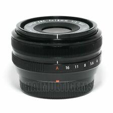 Fujifilm Fuji Fujinon XF 18mm f/2 R lens X Series + 52mm Filter DHL Express