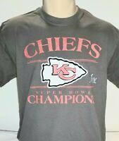 KC Kansas City Chiefs Super Bowl LIV 2020 Champions Champs T-shirt Size S-2xl
