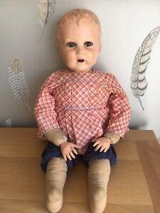 Antique Unusual SFBJ Boy Doll