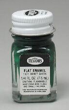 Testors 1/4 oz Flat Beret Green Enamel Paint 1171