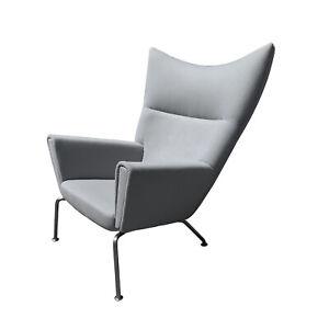 Hans J Wegner Ch445 Wingback Chair Mid Century Modern Carl Hansen Wing DWR