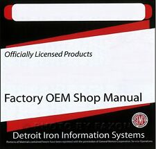 1968 Chevy CD Parts Book and Shop Manual set with Service Overhaul Body Repair