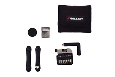 Raleigh Mini Pocket Pouch Bag & Cycling Repair Puncture Kit Tools Road Bike