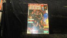 H/M metal magazine n.10 1986 Maiden Aerosmith Loudness WASP + sticker Venom