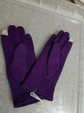 Womens  Touch Screen Winter Warm Gloves purple