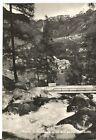 160599 SONDRIO CHIESA IN VALMALENCO - PONTE Cartolina FOTOGRAFICA viaggiata 1963