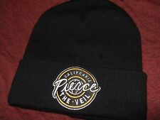 Nwt Pierce The Veil California Band Logo Black Knit Beanie Stocking Cap Ski Hat